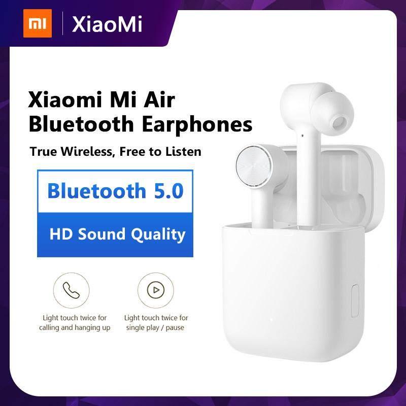 ขายดีมาก! 【ส่งด่วน Kerry】Xiaomi Bluetooth Earphone Air หูฟังบลูทูธ ไร้สาย True Wireless พร้อมเคสชาร์จไฟในตัว Stereo Sport Earphone ANC Switch ENC Auto Pause Control xiaomi Airdots pro