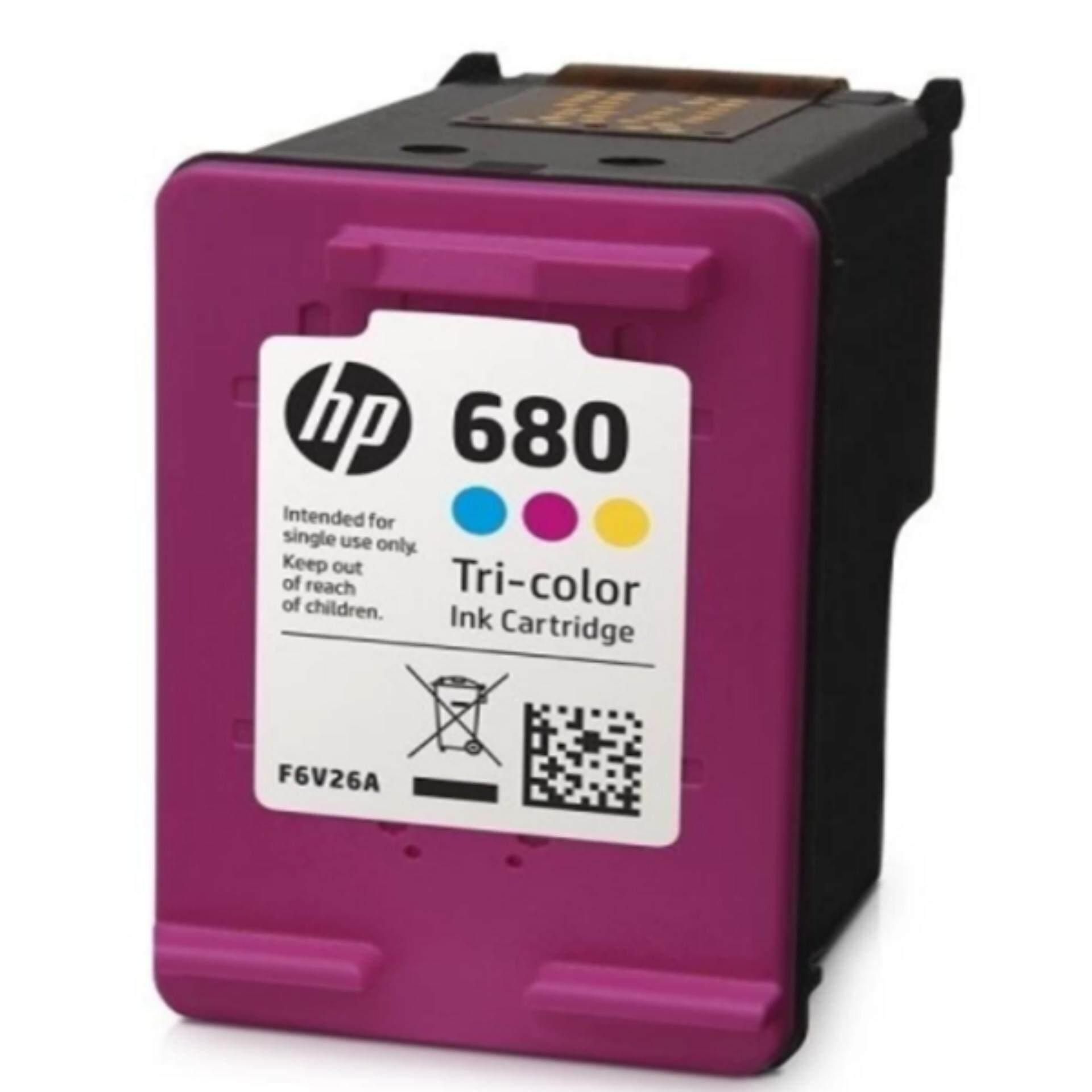 เก็บเงินปลายทางได้ หมึกอิงค์เจ็ท สี HP 680 ฟรีค่าจัดส่ง Kerry Express ส่งด่วน