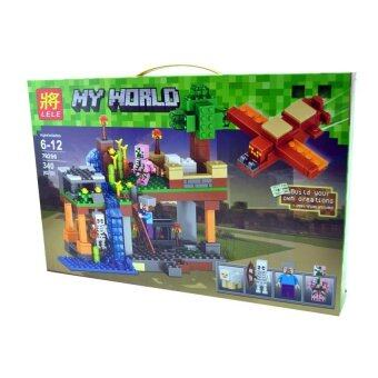 Chimmyland ตัวต่อ LELE Minecraft Fortress 3 327 ชิ้น