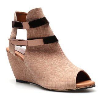 Classy รองเท้าแฟชั่นผู้หญิง รุ่น 10-023 - Brown