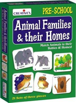 Creative'sของเล่นเสริมทักษะ ชุดCreative's Animal Families and Their Homes