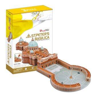 CubicFun 3D Puzzle St. Peter's Basilica (Vatican) มหาวิหารเซนต์ปีเตอร์ แห่ง โรม จิ๊กซอว์ 3 มิติ