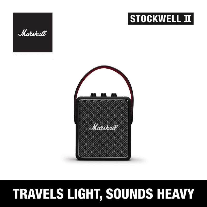 การใช้งาน  บุรีรัมย์ Marshall Stockwell II Bluetooth speaker - ลำโพงบลูทูธ Marshall Stockwell II