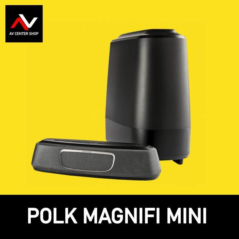 สอนใช้งาน  อ่างทอง Polk Audio รุ่น MagniFi Mini ลำโพงซาวบาร์ Soundbar  ประกันศูนย์ 5 ปี จาก Powerbuy DOLBY NR 5.1CH