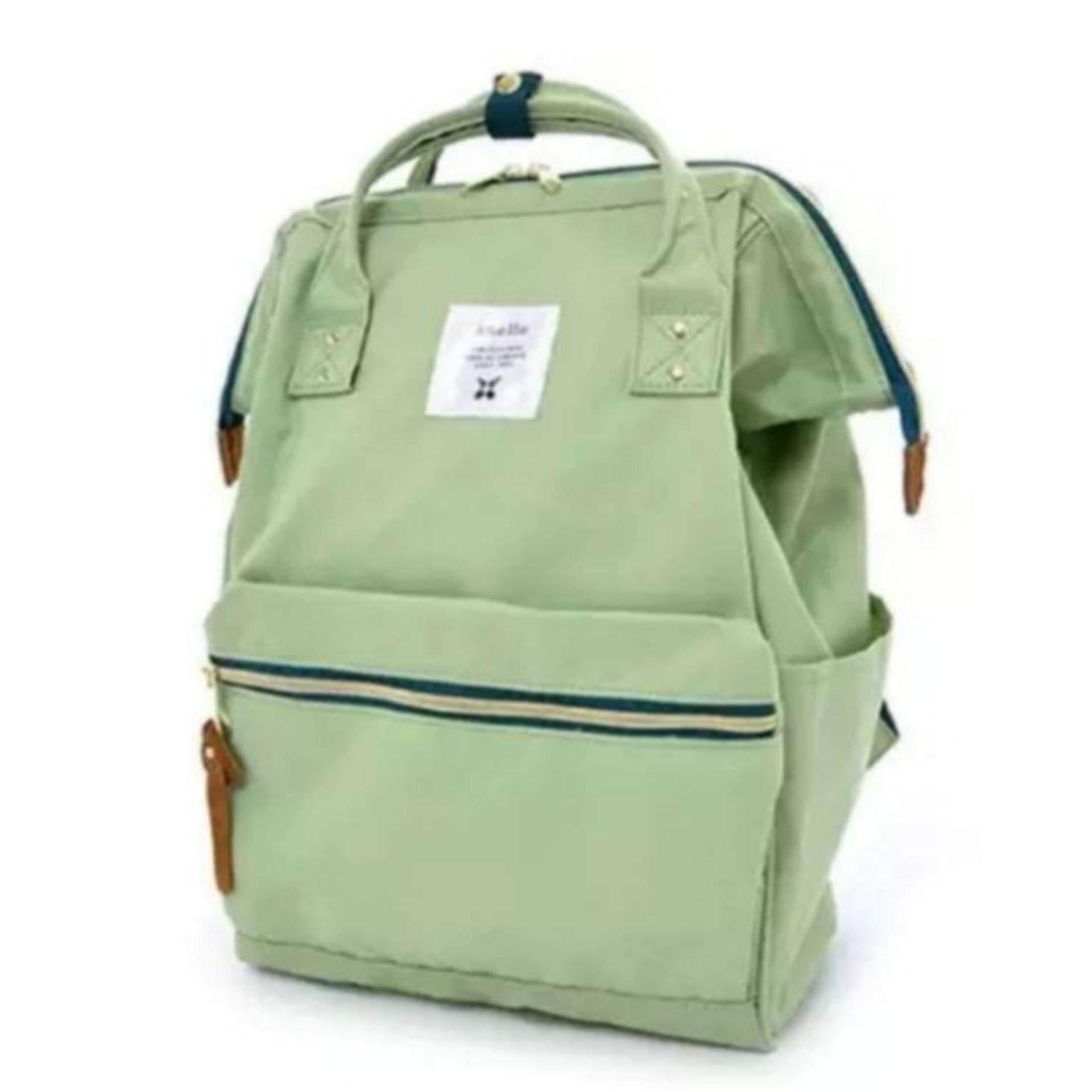 ยี่ห้อนี้ดีไหม  ระนอง Anello Regular Backpack เขียวอ่อน