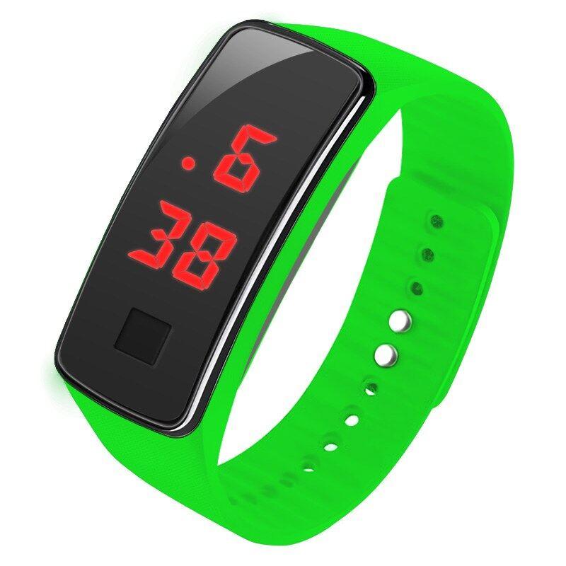 นาฬิกาสปอร์ตข้อมือ LED ดิจิตอล