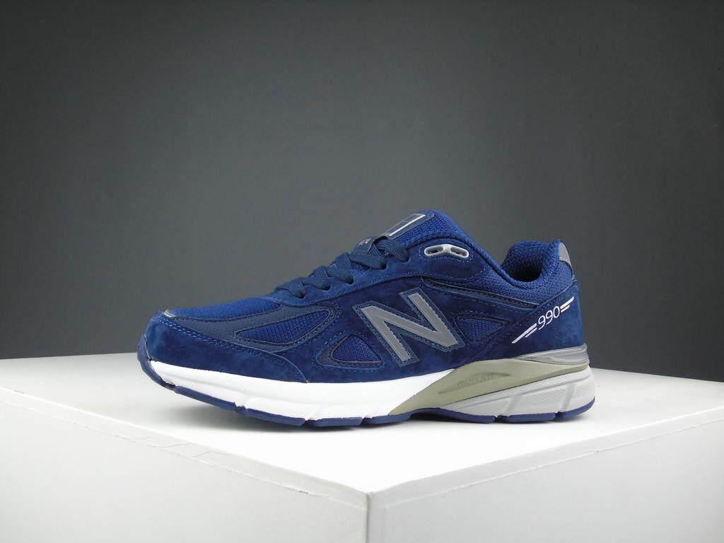 การใช้งาน  พระนครศรีอยุธยา New Balance_2019 รองเท้าวิ่งผู้หญิง / Unisex s Fashion Sports Running Shoes Sneakers NB-990V4-2