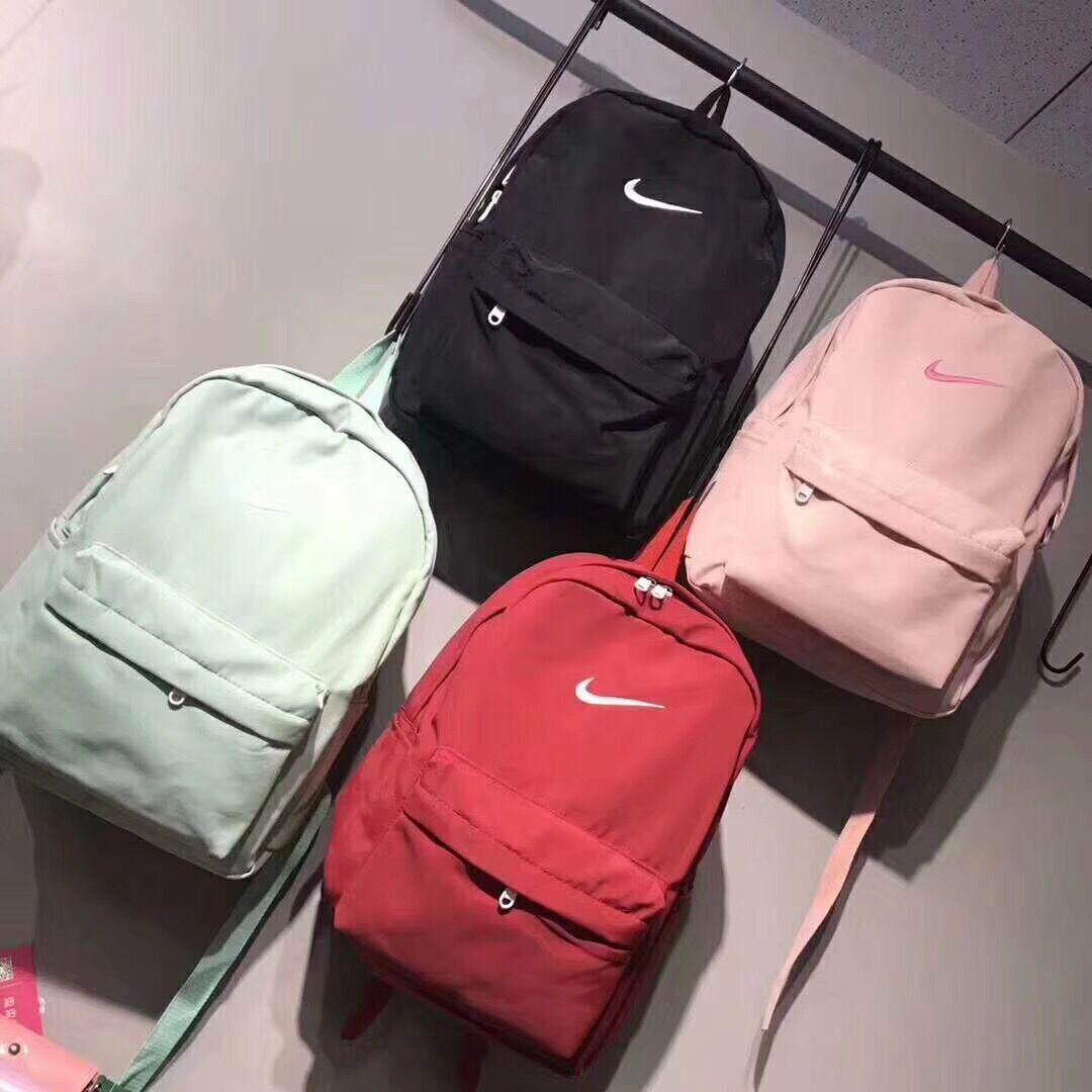 กระเป๋าเป้ นักเรียน ผู้หญิง วัยรุ่น อุตรดิตถ์ NAIKE กันนำ้กระเป๋าเป้ กระเป๋าสะพายหลัง Backpack
