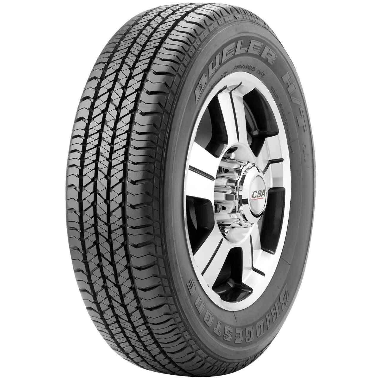 ประกันภัย รถยนต์ 3 พลัส ราคา ถูก สุโขทัย Bridgestone ยางรถยนต์ 255/60R18 DUELER H/T 684II จำนวน 4 เส้น (ยางใหม่ปี 2019)