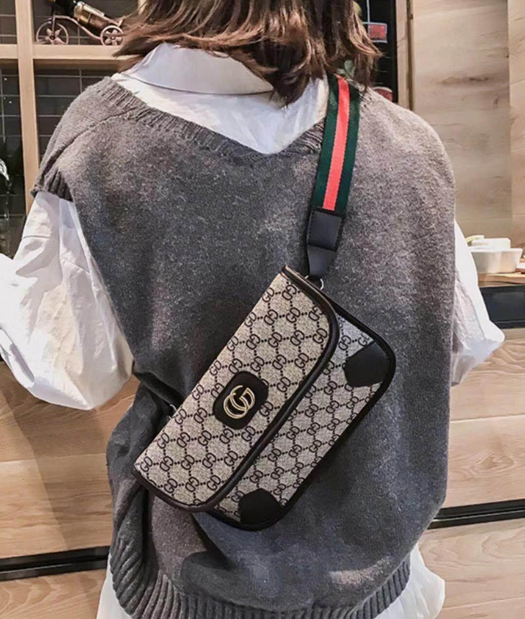 กระเป๋าสะพายพาดลำตัว นักเรียน ผู้หญิง วัยรุ่น ชัยภูมิ MISS BAG Korea Fashion Bag กระเป๋าเทรนด์แฟชั่น Gc08