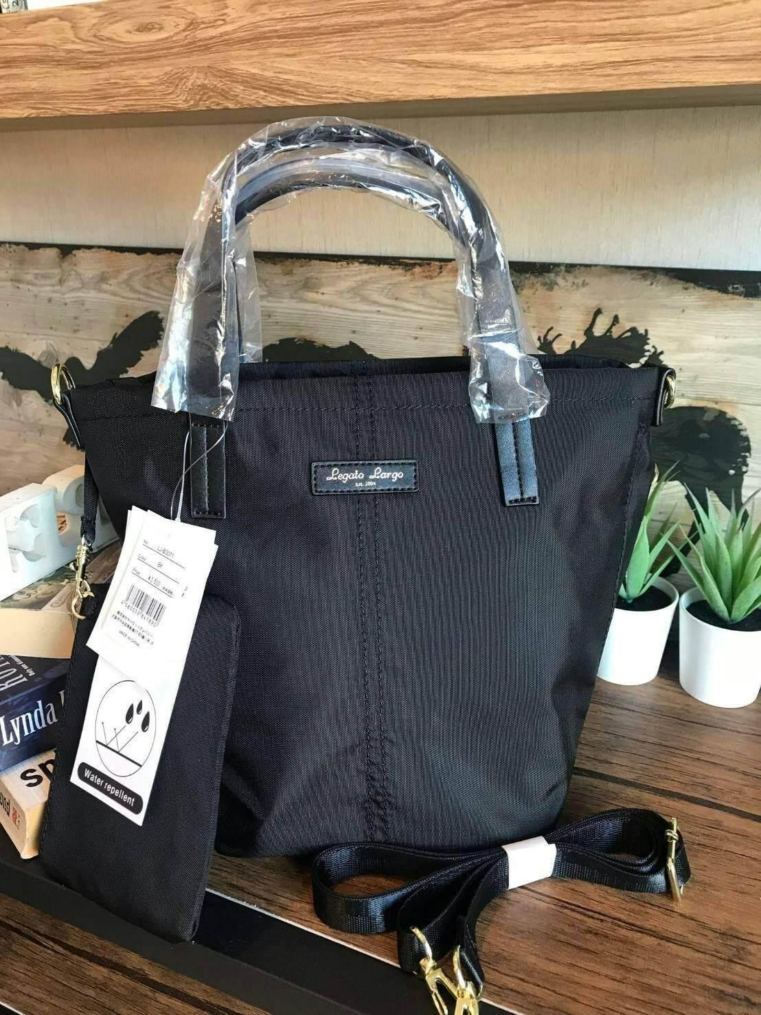 บัตรเครดิต ธนชาต  น่าน Anello & Legato Largo Mini Tote Shoulder Bag