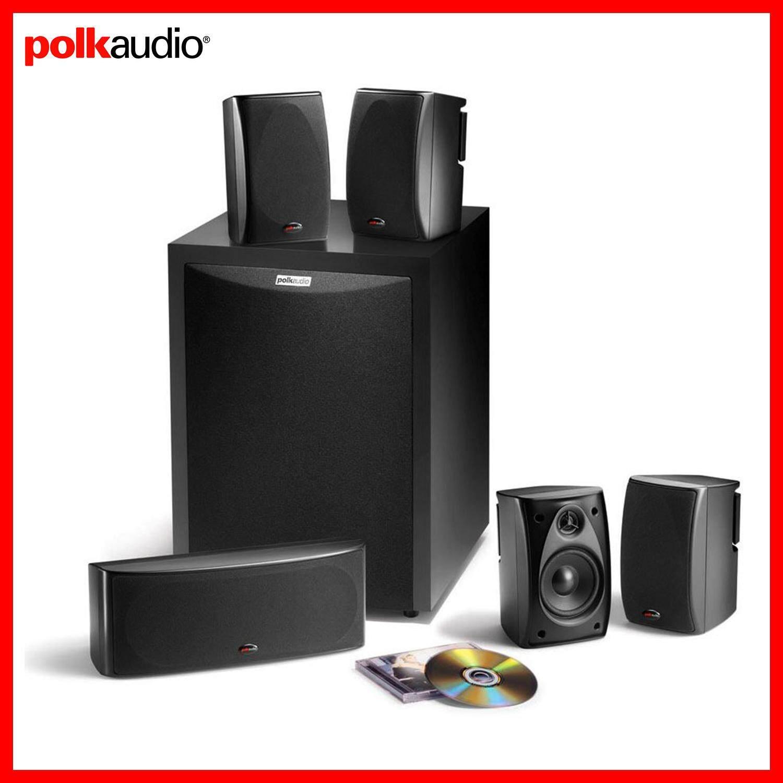 ยี่ห้อนี้ดีไหม  สตูล Polk Audio ชุดลำโพง 5.1 ch พร้อมลำโพงซับวูฟเฟอร์ 8 นิ้ว 100 วัตต์ รุ่น RM-6750 (ชุดลำโพงไม่มีสายลำโพงมาให้ ต้องหาซื้อเอง)