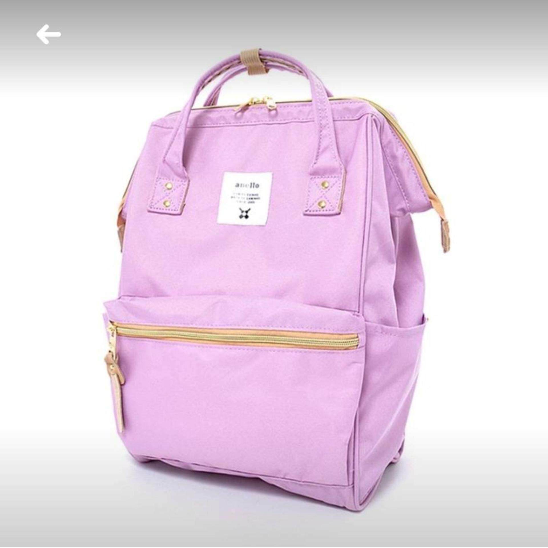 ระยอง Anello Regular Backpack ม่วงอ่อน