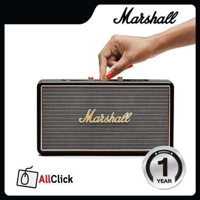 ยี่ห้อไหนดี  เชียงราย ลำโพง Marshall รุ่น Stockwell (Black) No Case รับประกันศูนย์ไทย 1 ปีเต็ม Marshall Stockwell Speaker (Black) No Case 1 year Thai Center Warranty