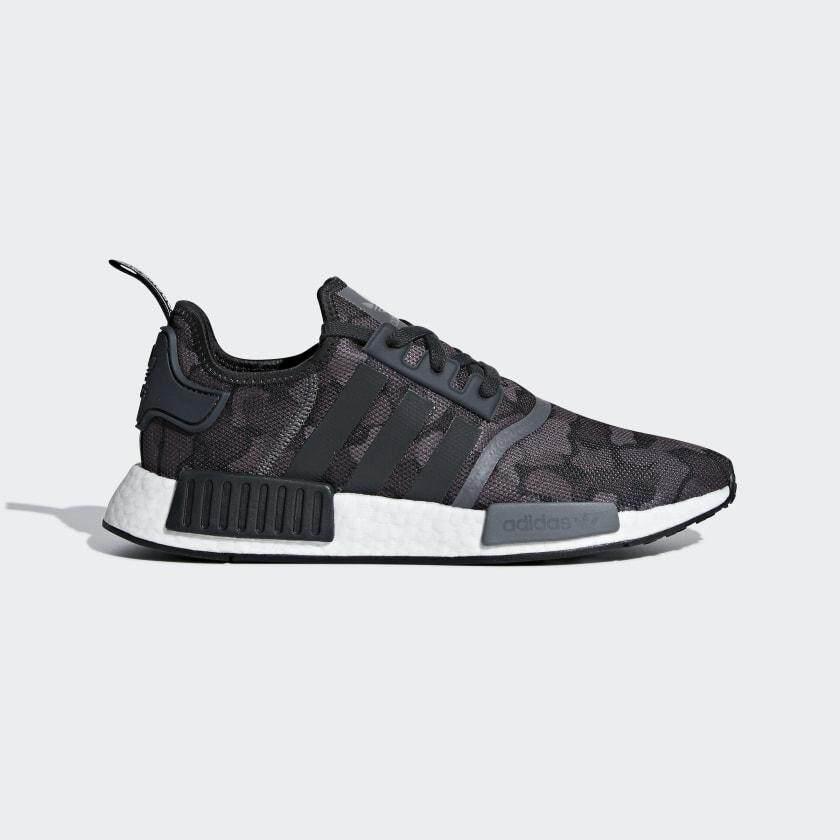 ยี่ห้อไหนดี  สุโขทัย Adidas Originals รองเท้า NMD R1 Core Black/Grey Five (D96616)