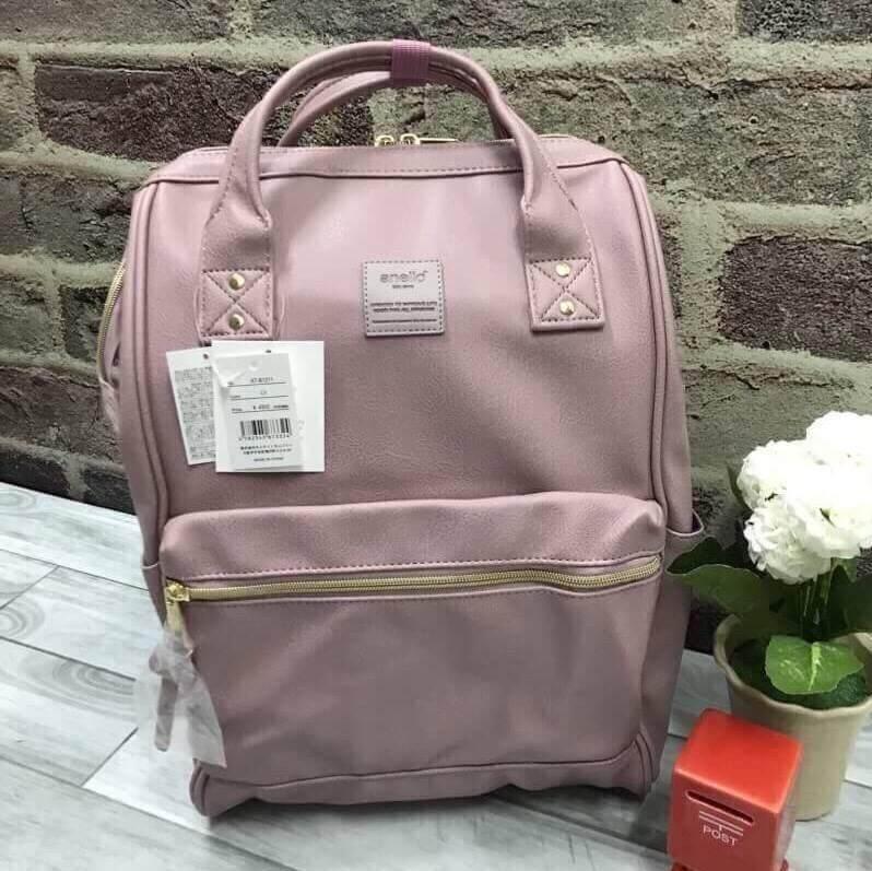 สอนใช้งาน  ปราจีนบุรี กระเป๋า Anello PU Leather Classic