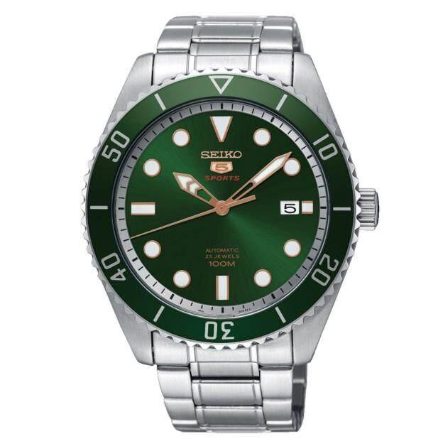 สุพรรณบุรี Seiko 5 นาฬิกาข้อมือ Sports Automatic DIVER 100 M Mens Watch รุ่น SRPB93J1