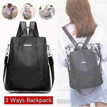ชุมพร Ifashion   กระเป๋าสะพายหลัง กระเป๋าเป้ กระเป๋าแฟชั่นผู้หญิง Fashion Shoulder Bag Backpacks Laptop Computer Backpacks College School Bookbag for Students Teenagers Ladies Waterproof Lightweight Oxford Daypack Bag BY 03