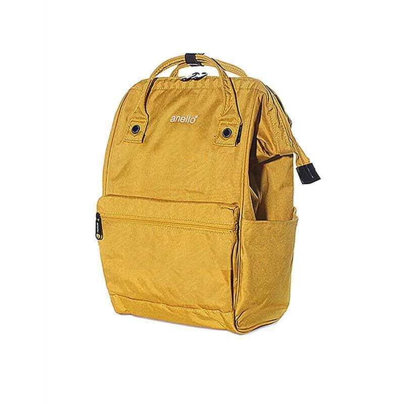 บัตรเครดิต ธนชาต  อ่างทอง กระเป๋า Anello Anello Reg High Densityanello กระเป๋าเป้ Reg High Density Heat-Tight Polyester Mouthpiece สีเหลือง