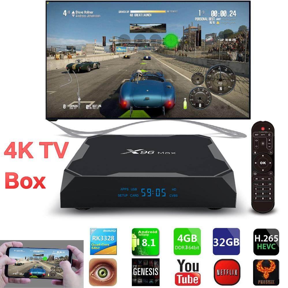 ทำบัตรเครดิตออนไลน์  เพชรบุรี X96Max Android 8.1 รุ่นใหม่ล่าสุด Amlogic S905X2 Quad Core 2.4G WiFi BT H.265 Smart TV Box Ram4/Rom32 GB กล่องแอนดรอยด์รุ่นใหม่ปี สามารถตั้งค่า Smart TV เป็นเวอร์ชั่นภาษาไทยรองรับเวอร์ชั่นภาษาไทย
