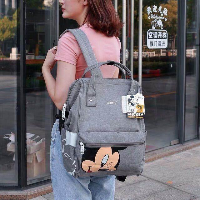 เพชรบูรณ์ anello Mickey Limited Edition Collection กระเป๋าสะพายหลัง