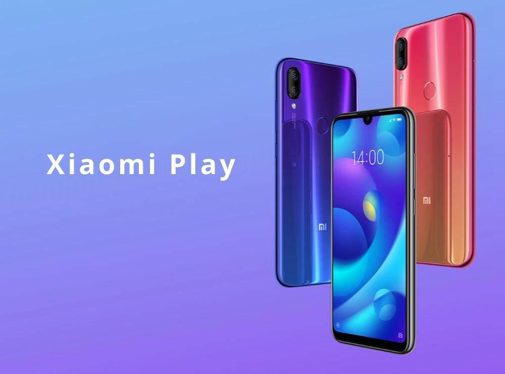 ยี่ห้อไหนดี  พะเยา Xiaomi Mi Play แรม4 รอม 64 ประกันศูนย์ 1 ปี