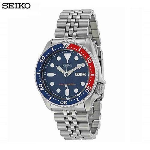 สระบุรี Seiko นาฬิกาข้อมือผู้ชาย สีเงิน สายสแตนเลส รุ่น skx009K2