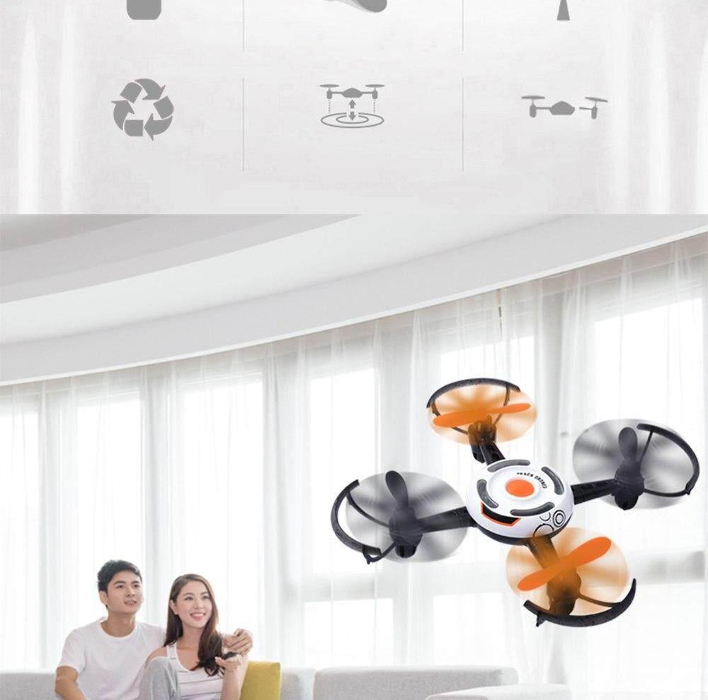SELFIE DRONE Track Drone  QS007 โดรนติดกล้อง เซลฟี่ บินนิ่ง ถ่ายวีดีโอกล้อง2ล้านพิกเซล/ ภาพนิ่ง  ถอดเก็บพกพาใส่กระเป๋าได้  มีระบบติดตามวัตถุด้านใต้  ควบคุมด้วยโทรศัพท์มือถือและรีโมท  2.4GHz  FPVต่อ WIFI -ไม่ต้องขึ้นทะเบียน