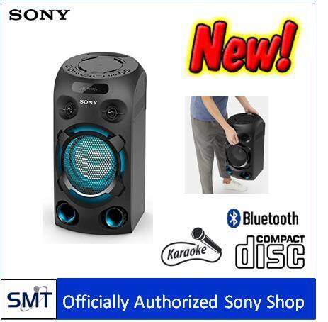 มุกดาหาร Sony MHC-V02 เครื่องเสี่ยงปาร์ตี้ Karaoke เล่น CD/USB/ FM/ Bluetooth แบบไร้สาย