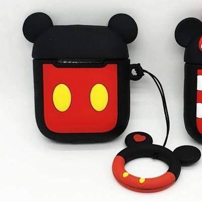 ลดสุดๆ ส่งฟรี Kerry!!! ขาย กล่องซีลีโคน เก็บหูฟัง Airpods มิกกี้เม้าส์ Mickey mouse