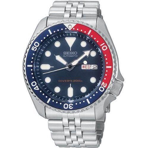 ยี่ห้อไหนดี  อุตรดิตถ์ Seiko Prospex Diver 200m นาฬิกาข้อมือ สุภาพบุรุษ สายยาง รุ่น SRP779K1 - สีดำ