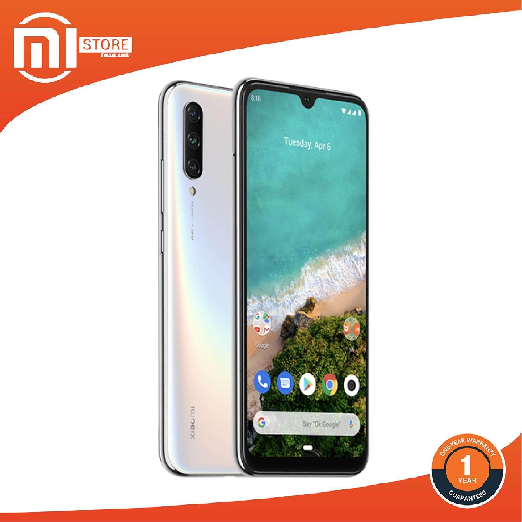 สมุทรสงคราม (สินค้าพร้อมส่ง) (ผ่อน 0% 10เดือน) Mi Store - Smart Phone Xiaomi Mi A3 6.088 นิ้ว HD + หน้าจอ 4G LTE สมาร์ทโฟน Snapdragon 665 Android One Ram4GB/ Rom128GB โทรศัพท์รุ่นบุกเบิกด้วยสามกล้องหลัง รุ่นทั่วโลก