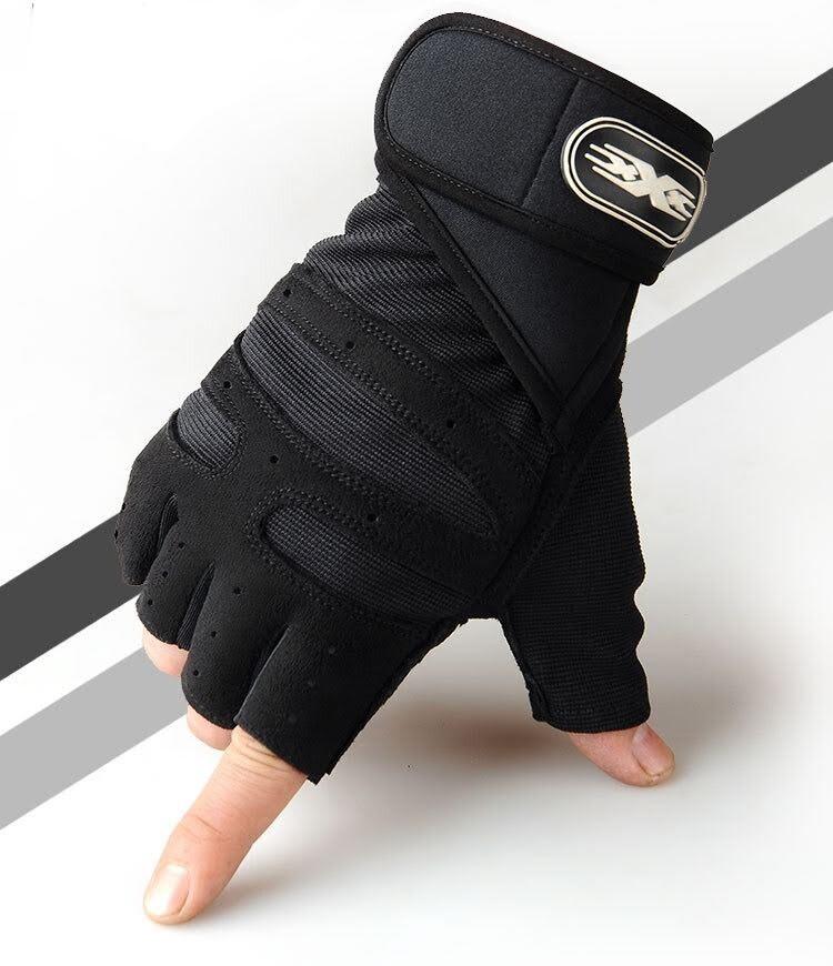 ถุงฟิสเนส ถุงมือยกน้ำหนัก ถุงมือออกกำลังกาย ถุงปั่นจรักยาน