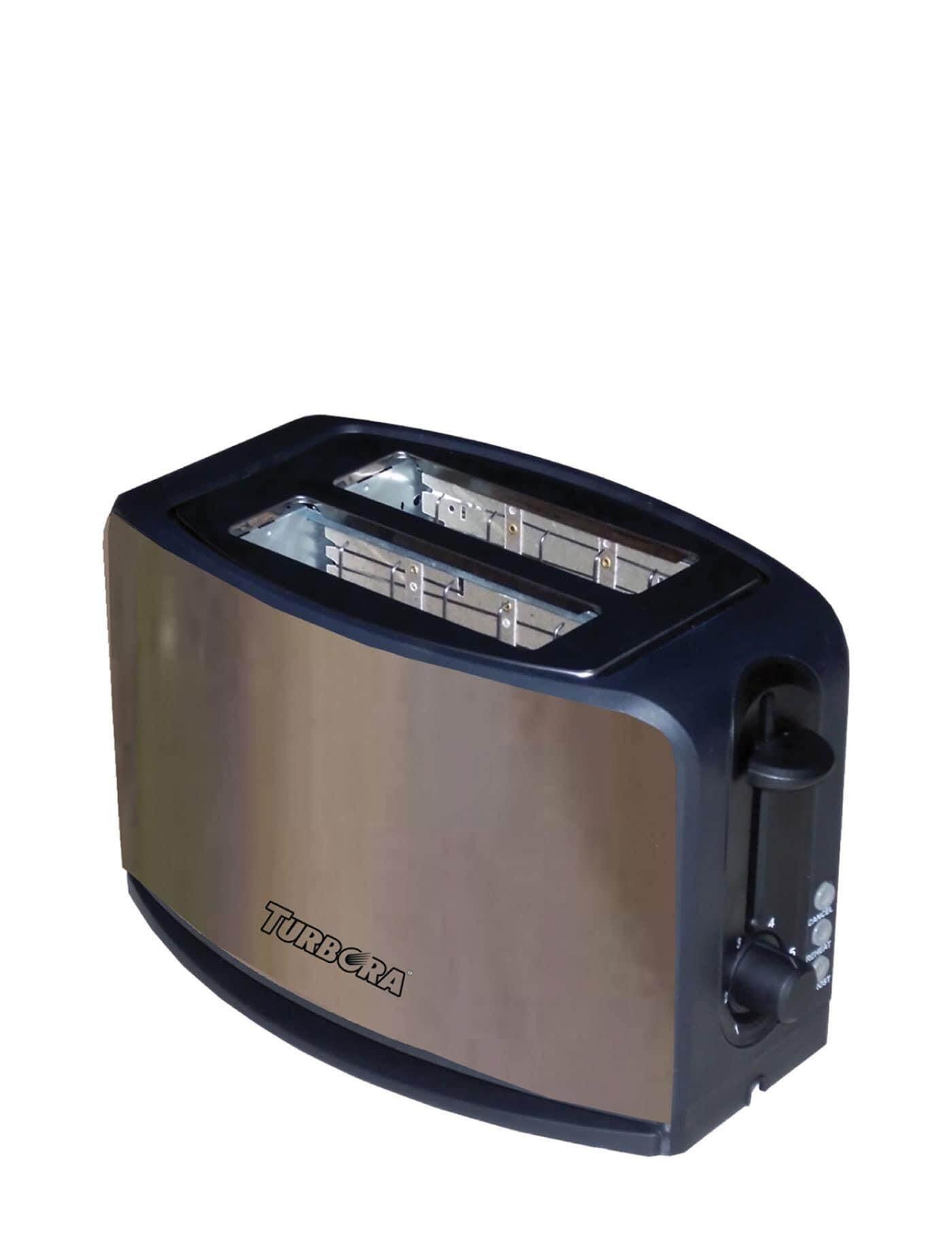 สอนใช้งาน  เชียงใหม่ TURBORA เครื่องปิ้งขนมปัง สีน้ำตาล toasters makers