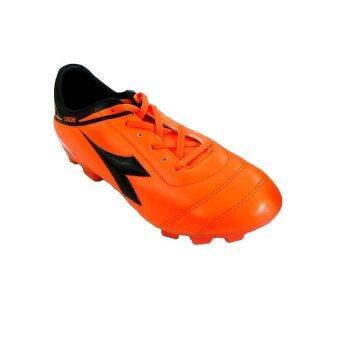 DIADORA รองเท้า ฟุตบอล Football Shoes รุ่น DF-15B3 OA (สีส้ม/ดำ)