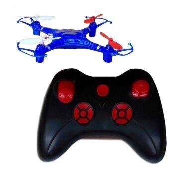 Drone เครื่องบินบังคับวิทยุขนาดเล็ก โดรนS49 (สีนํ้าเงิน)