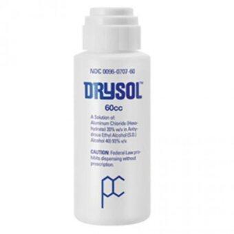 Drysol Antiperspirant น้ำยาระงับเหงื่อสำหรับมือและเท้า 60 cc