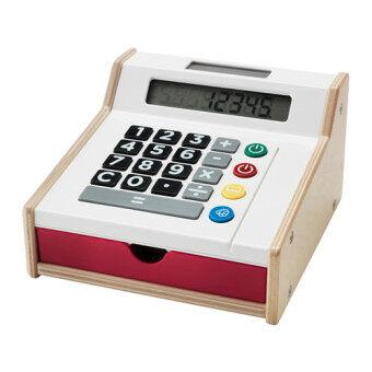 DUKTIG เครื่องคิดเงินของเล่น Toy cash register 11*19*18 cm