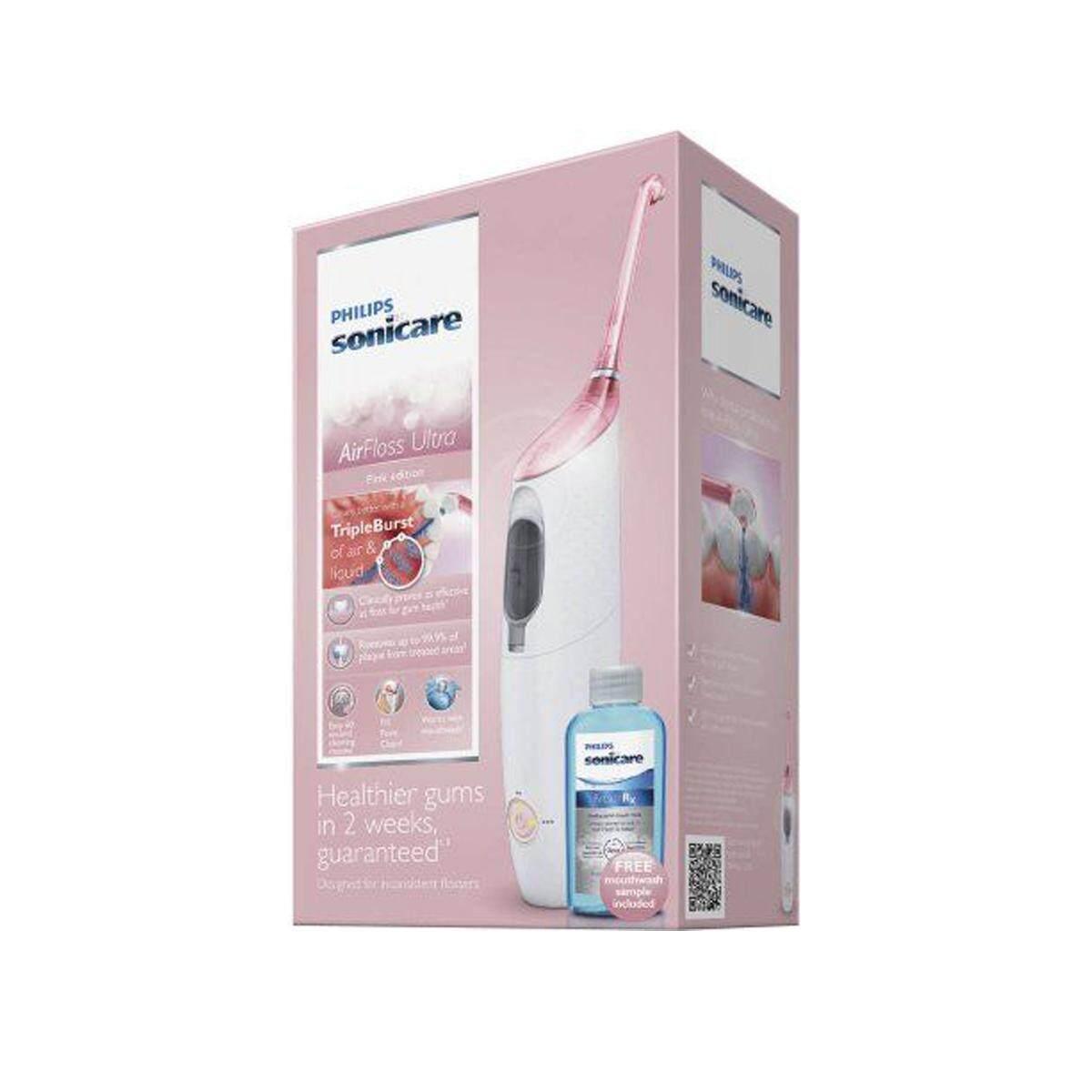 แปรงสีฟันไฟฟ้า รอยยิ้มขาวสดใสใน 1 สัปดาห์ ยโสธร Philips Sonicare Airfloss Ultra Model HX8332 12   ชุดแปรงสีฟันไฟฟ้า