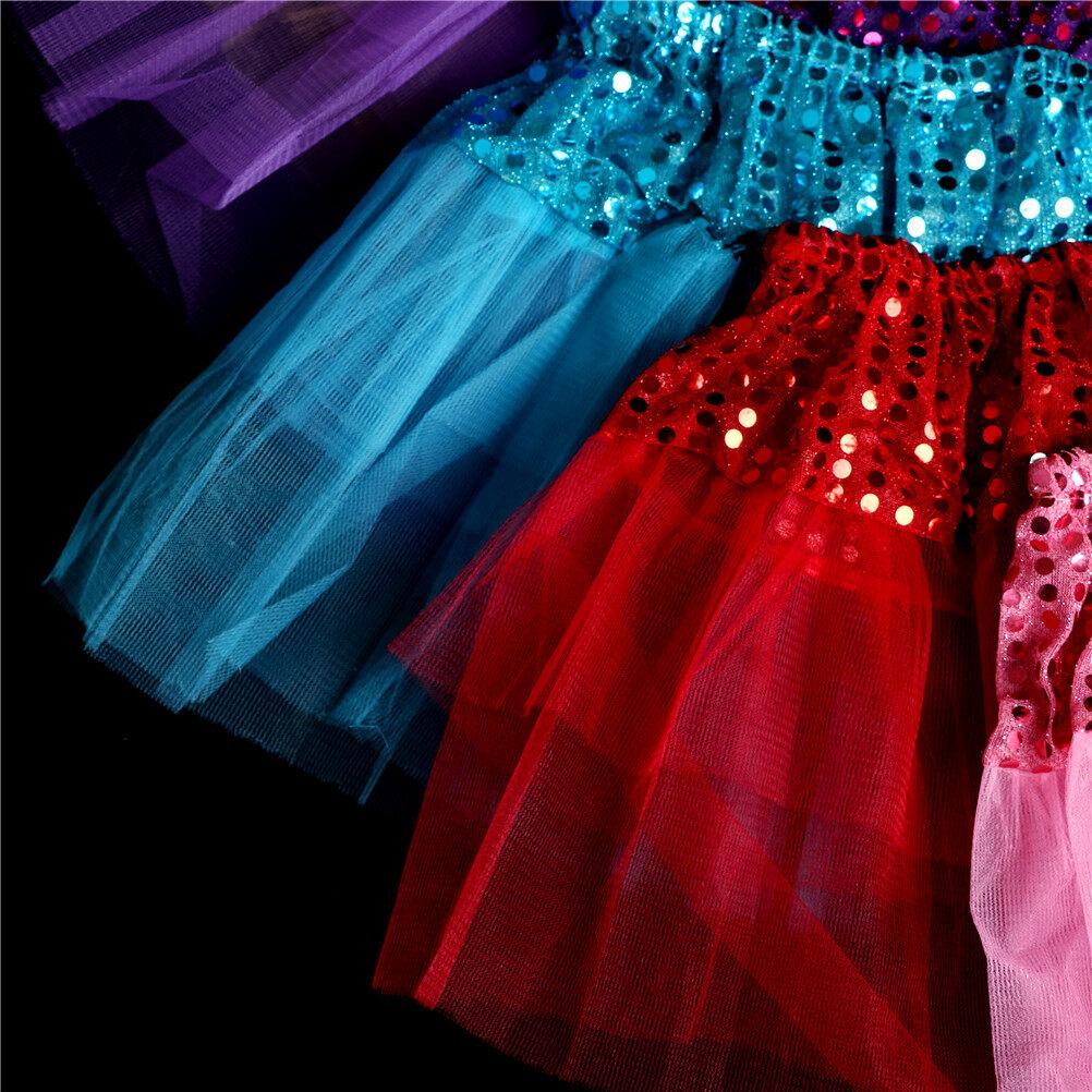 Princess Tutu Skirt Girls Kids Party Ballet Dance Wear Pettiskirt Dress Clothes/&