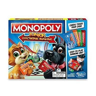 HASBRO ORIGINAL MONOPOLY JUNIOR ELECTRONIC BANKING เกมส์เศรษฐี