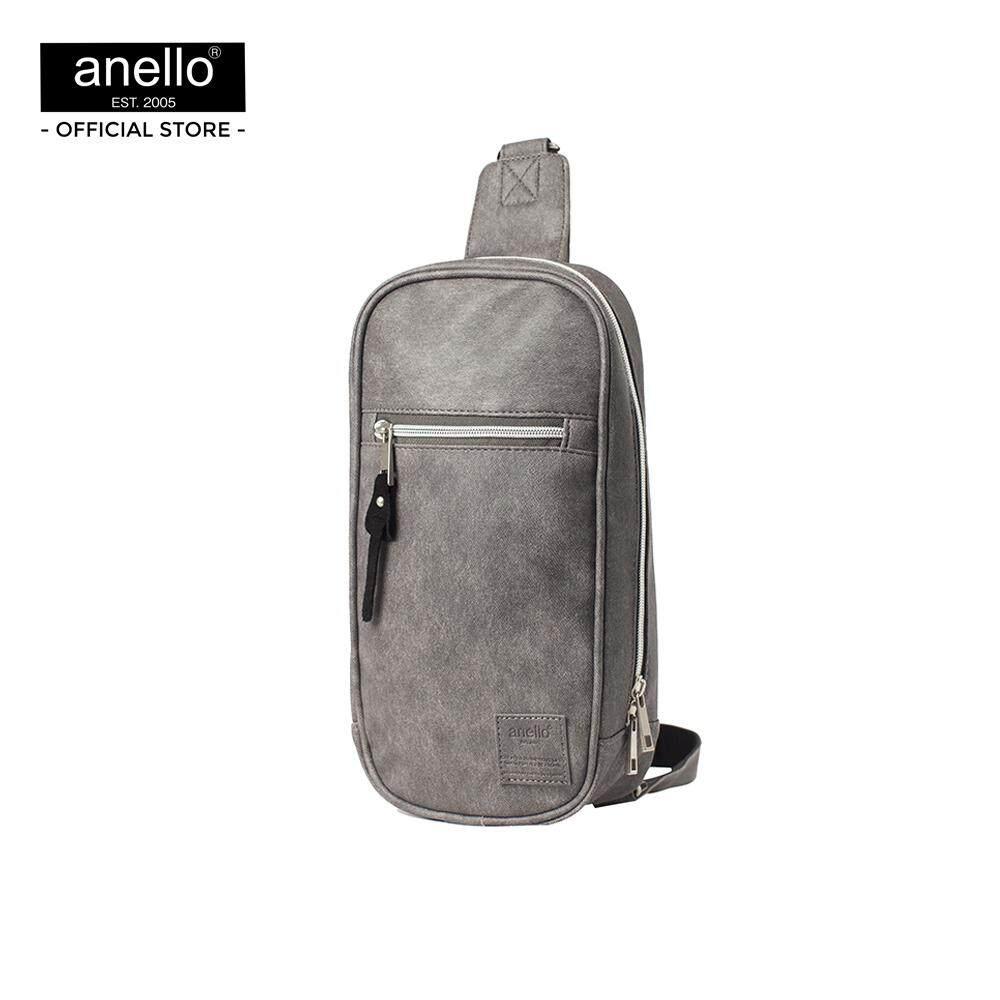 สอนใช้งาน  ระนอง กระเป๋าคาดอก Anello Retro Crossbody bag  OS-N037