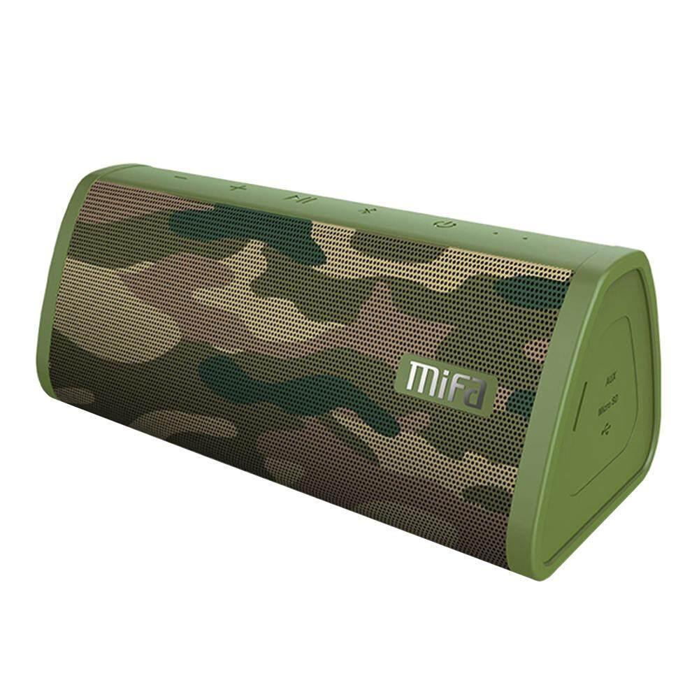 ยี่ห้อนี้ดีไหม  SPEAKER BLUETOOTH (ลำโพงบลูทูธ) MIFA A10 (CAMO) [ลายพราง] ส่งฟรี บริการเก็บเงินปลายทาง #speaker #bluetoothspeaker #ลำโพง #ลำโพงบลูทูธ #Marshall