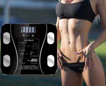 เครื่องชั่งน้ำหนัก เครื่องชั่งน้ำหนัก Glass Smart อิเล็กทรอนิกส์แบบดิจิตอล Body Weight Scale Weight Balance Bariatric LCD Display