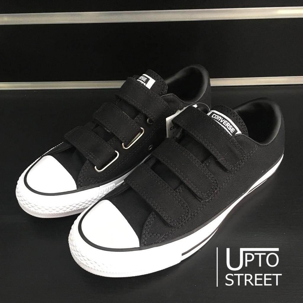 สอนใช้งาน  ชัยภูมิ   แท้ 100%   Converse Women รองเท้าผ้าใบ ผู้หญิง All Star 3V Ox - Black [559910CBK]