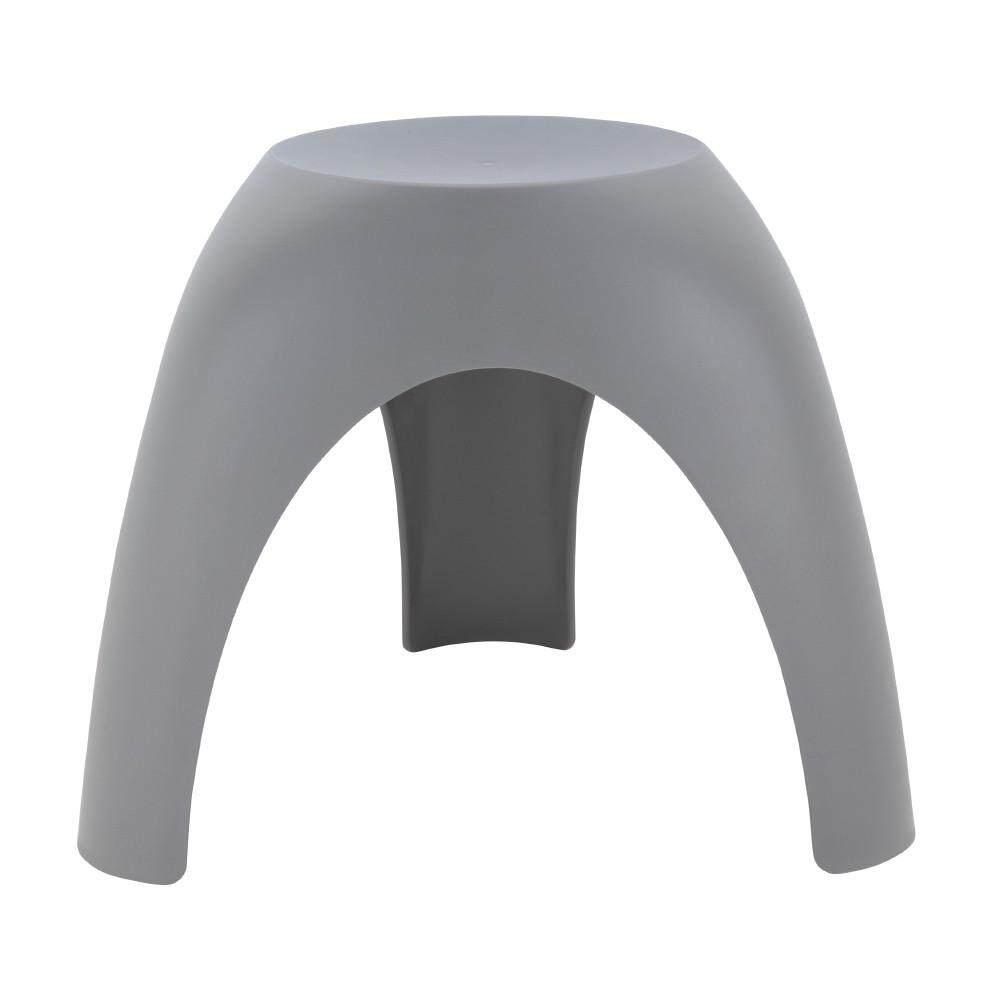 เช่าเก้าอี้ เชียงใหม่ เก้าอี้พลาสติก รุ่น ว้าว - สีเทา