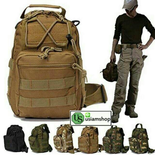 ลดสุดๆ ??กระเป๋าสะพายข้างทหาร???? ‼️ส่งKerry มีบริการเก็บเงินปลายทาง ??‼️