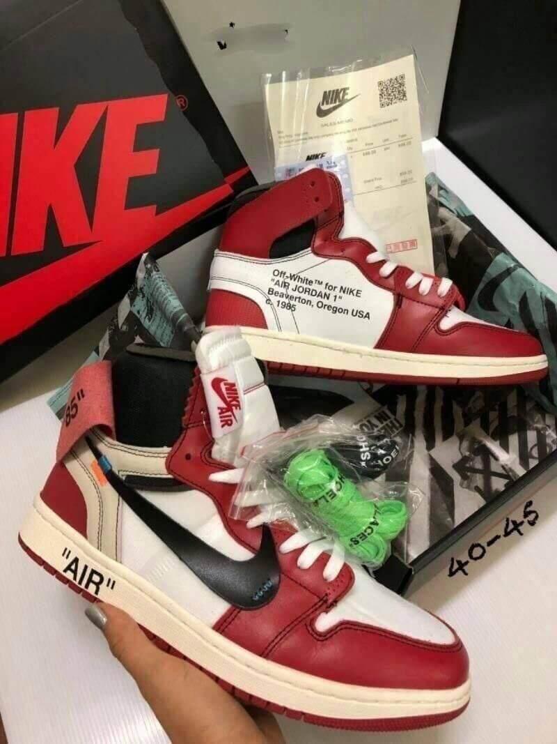 ยี่ห้อไหนดี  ชัยภูมิ เตรียมเงินในกระเป๋าของคุณให้พร้อม กับ Nike Air Jordan 1 Retro High OG x Off-White