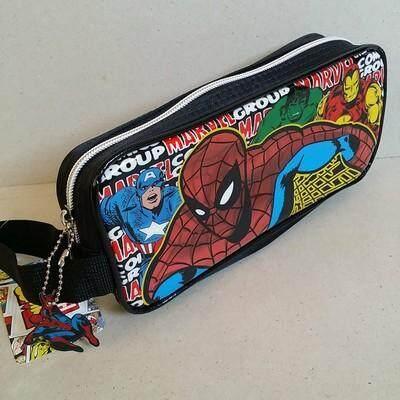 สุดยอดสินค้า!! ส่งฟรี Kerry!!! ขาย กระเป๋าดินสอ ซองดินสอซิป Spiderman สไปเดอร์แมน