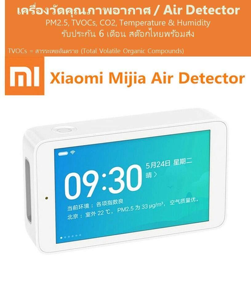 ชัยนาท เครื่องวัดคุณภาพอากาศ เครื่องวัดฝุ่น PM2.5 TVOC CO2 อุณหภูมิ ความชื้น